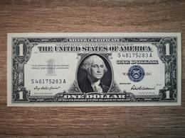1957-B UNITED STATES SILVER CERTIFICATE $1 (( GEM UNC )) - Certificati D'Argento (1928-1957)