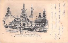 PARIS. Exposition Universelle 1900. Parc Du Trocadero.Le Palais De L'Asie Russe. - Autres