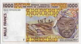 Togo 1000 Francs (P811T) Letter T 2002 Sign.31 -UNC- - Togo