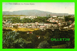 SHERBROOKE, QUÉBEC - VIEW OF SHERBROOKE FROM PROTESTANT HOSPITAL - TRAVEL IN 1906 - - Sherbrooke