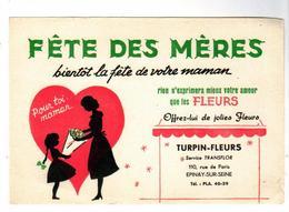 PUB  -  BUVARD FETE Des MERES - Löschblätter, Heftumschläge