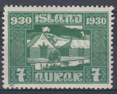 +Iceland 1930. ALTING. AFA / MICHEL 127. MH(*) - Nuovi