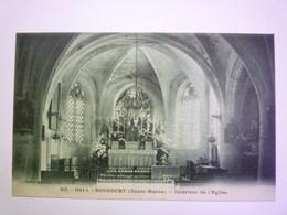 2020 - 5544  SONCOURT  (Haute-Marne)  :  Intérieur De L'Eglise   XXX - Autres Communes