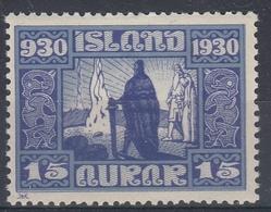 +Iceland 1930. ALTING. AFA / MICHEL 129. MH(*) - Nuovi