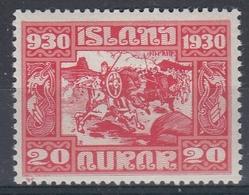 +Iceland 1930. ALTING. AFA / MICHEL 130. MH(*) - Nuovi
