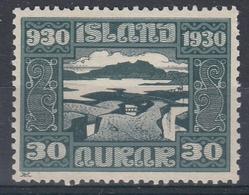 +Iceland 1930. ALTING. AFA / MICHEL 132. MH(*) - Nuovi