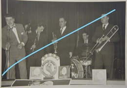 Photox17 + 5 Dédicace + JAZZ Club New Orleans 1955 Belgium Jeff De Boeck Gus Deloof Tohama Irene De Trebert Saxophone - Photos