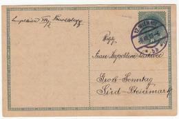 Austria, Postal Stationery Postcard Posted 1918 B200520 - Postwaardestukken