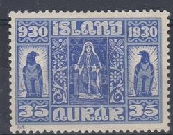 +Iceland 1930. ALTING. AFA / MICHEL 133. MH(*) - Nuovi