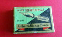 LOT 24 PLUMES SERGENT-MAJOR DEPARTEMENTALE N°552 NEUVES - BLANZY-CONTE-GILBERT - Pens
