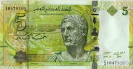 Tunisie 5 Dinars (P95) 2013 (Pref: C/4) -UNC- - Tunisia