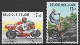 Belgique: 1999. COB : 2819/20 Oblitéré(s). - Gebraucht