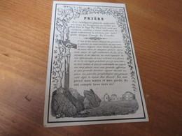 Dp, 1799 - 1855, Lauwe, Tielt, Darras - Devotion Images