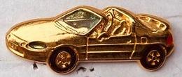 VOITURE DECAPOTABLE DOREE - CAROLINE LISFRANC -  CAR - AUTO - EGF - MACCHINA - CARRO  -       (25) - Volkswagen