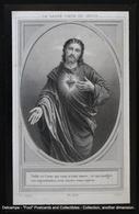 Image Pieuse Holy Card Heilig Prentje Sacré Coeur Holy Heart Sacred Heart Of Jesus WAUQUIER MINIQUE SOMBREFFE - Images Religieuses
