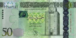 Libya 50 Dinars (P80) 2013 -UNC- - Libya