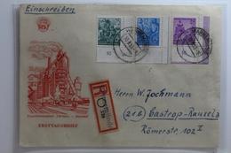 DDR 367, 372 Und 376 Auf Brief Als Mischfrankatur Eckrand Ersttagsstempel #BA331 - [6] République Démocratique