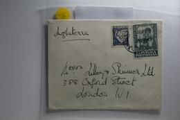 Portugal 548 Auf Brief Als Mischfrankatur #BA292 - Portogallo