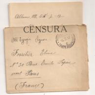 1917 POSTA MILITARE TRUPPE D4OCCUPAZIONE 2 /  CENSURA ALBANIA   C278 - Albanie