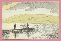 Vogesen - Vosges - GERARDMER - Carte Signée André DUPUIS - Le Lac - France