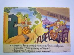 "2020 - 5554  Illustrateur  Fernand BOURGEOIS  N°16  "" Entendu Mr Brun...""  XXX - Bourgeois"