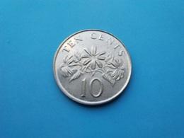 SINGAPOUR   -  10 Cents  1993  -- SUP --    SINGAPORE - Singapur