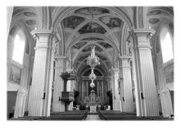 SALLANCHES - Intérieur De L'église Saint-Jacques - Sallanches