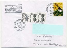 LETTRE TAXEE  POSTE RESTANTE - 1960-.... Cartas