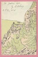 Vogesen - Vosges - Carte Signée André DUPUIS - Rocher Du Chameau - France