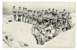 CARTE PHOTO MILITAIRE 51 SOUVENIR MANOEUVRES AU MONT CORNILLET LE 26 MAI 1929 - Autres Communes