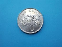 SINGAPOUR   -  10 Cents   2003   -- SUP --    SINGAPORE - Singapur