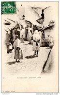 ALGERIE Une Rue Du Quartier Arabe De CONSTANTINE En 1900 Carte Précurseur - Constantine