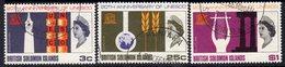Solomon Islands 1967 UNESCO Set Of 3, Used, SG 157/9 (B) - Salomonseilanden (...-1978)
