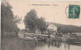 FRESNES-SUR-MARNE - L' Ecluse Animée - Autres Communes