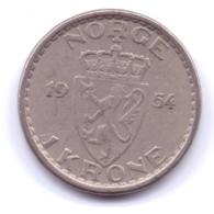 NORGE 1954: 1 Krone, KM 397 - Norvegia