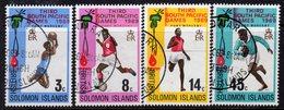 Solomon Islands 1969 Third South Pacific Games Set Of 4, Used, SG 184/7 (B) - Salomonseilanden (...-1978)