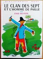 Illustré Par ASLAN > Enid Blyton : LE CLAN DES SEPT ET L'HOMME DE PAILLE (Bibliothèque Rose, Hachette) - Bücher, Zeitschriften, Comics