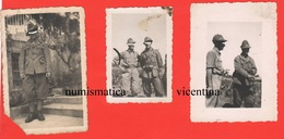 Alpini 3 Foto Di Posa Anni 20 E 30 - Guerra, Militari