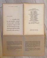 Document Philatélique Timbre Coopération Avec Cachets 1er Jour De Paris Et De 14 Capitales D'Afrique Francophone 1964 - Ohne Zuordnung