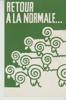 MAI 68  ATELIER POPULAIRE ' ( .retour A La Normale ) - Demonstrations