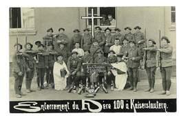 CARTE PHOTO MILITAIRE ALLEMAGNE KAISERSLAUTERN Soldats - Weltkrieg 1914-18
