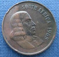 Afrique Du Sud 2 Centime 1965 - South Africa