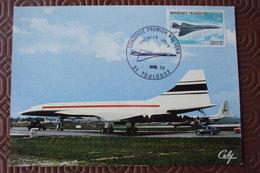 France, Carte Maximum,   Concorde  N° PA 43 Etat Parfait. - Poste Aérienne