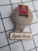 1216c Pin's Pins / Belle Qualité Et TB état !!!! : THEME : AUTOMOBILES / CITROEN APRES-VENTE CLE PLATE Par AMC - Citroën