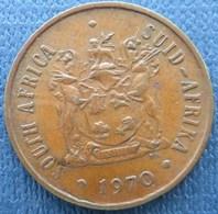 Afrique Du Sud 2 Centime 1970 - South Africa