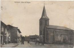 87 VEYRAC  Place De L'Eglise - Andere Gemeenten