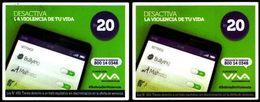 Bolivia 2019 - 08-04-2020 / 31-05-2020 VIVA Desactiva La Violencia De Tu Vida. Dos Fechas, Dos Tonos. - Ontwikkeling