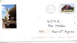 Pap Normandie Flamme Muette Bosc Roger Illustré Iton - Entiers Postaux