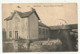 Grenois (58 - Nièvre)  Maison D'Ecole De Garçons - France