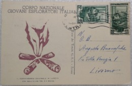 CORPO NAZIONALE GIOVANI  ESPLORATORI ITALIANI 1952 - Scoutismo